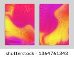 abstract cover template with... | Shutterstock .eps vector #1364761343