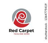 carpet logo icon   Shutterstock .eps vector #1364775419