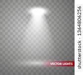 vector spotlights. floodlight. ... | Shutterstock .eps vector #1364806256