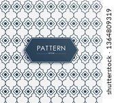 stock vector arabic pattern... | Shutterstock .eps vector #1364809319