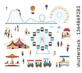 Attractions And Big Top Circus...