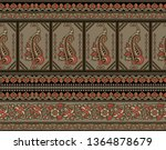 seamless traditional indian... | Shutterstock . vector #1364878679