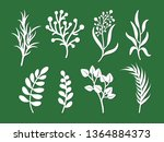 laser cutting template of... | Shutterstock .eps vector #1364884373
