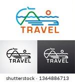 illustration of graphic sign... | Shutterstock .eps vector #1364886713