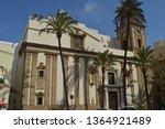 facade of the church of...   Shutterstock . vector #1364921489