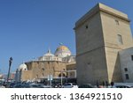 beautiful dome of the cathedral ...   Shutterstock . vector #1364921510