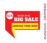 template design for shop or web ...   Shutterstock .eps vector #1364948363