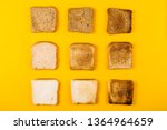 Different Types Of Toast Bread...