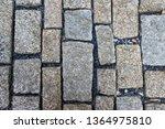 an old stoneblock pavement...   Shutterstock . vector #1364975810