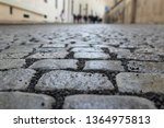 an old stoneblock pavement...   Shutterstock . vector #1364975813