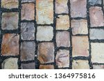 an old stoneblock pavement...   Shutterstock . vector #1364975816