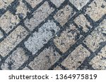 an old stoneblock pavement...   Shutterstock . vector #1364975819