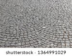 an old stoneblock pavement...   Shutterstock . vector #1364991029