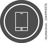 smart device icon design  | Shutterstock .eps vector #1364993570