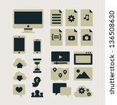 computing | Shutterstock .eps vector #136508630