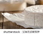 Close Up On Camembert Cheese...