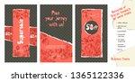 trendy easy editable template... | Shutterstock .eps vector #1365122336