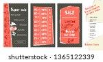 trendy easy editable template... | Shutterstock .eps vector #1365122339