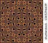 Art Deco Seamless Pixel Pattern ...