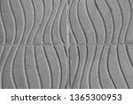closeup gray cement floor  ... | Shutterstock . vector #1365300953
