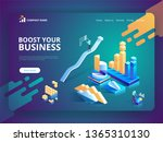 landing page template of boost...
