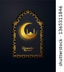ramadan kareem vector...   Shutterstock .eps vector #1365311846