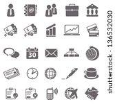 business basic icons