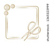 vector vintage square frame...   Shutterstock .eps vector #1365323999