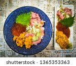 Street Japanese Food.  Bowl Of...