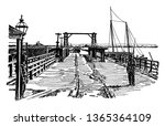 Potomac River Long Bridge...