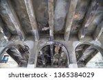 underside of bridge road...   Shutterstock . vector #1365384029