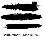 grunge paint roller . vector... | Shutterstock .eps vector #1365400763