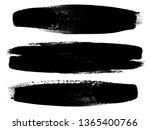 grunge paint roller . vector... | Shutterstock .eps vector #1365400766