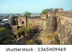 Small photo of Jhansi Fort, Jhansi fort construction in 1613 by the king of Orchha Veer Singh ju Deo Bundela, It is under Archaeological Survey of India.