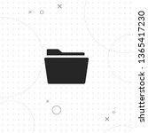 folder  archive  vector best... | Shutterstock .eps vector #1365417230