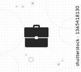 briefcase  portfolio  vector... | Shutterstock .eps vector #1365418130