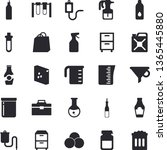 solid vector icon set   tool...   Shutterstock .eps vector #1365445880