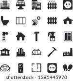 solid vector icon set   house...   Shutterstock .eps vector #1365445970