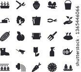 solid vector icon set  ...   Shutterstock .eps vector #1365446066