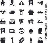 solid vector icon set  ...   Shutterstock .eps vector #1365451106