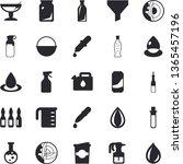 solid vector icon set  ...   Shutterstock .eps vector #1365457196