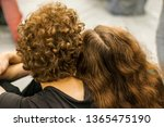 couple from behind. beautiful... | Shutterstock . vector #1365475190
