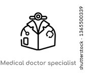 outline medical doctor... | Shutterstock .eps vector #1365500339