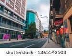 zagreb  croatia   july 15  2018 ... | Shutterstock . vector #1365543503