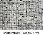 metal mesh stones   gabion... | Shutterstock . vector #1365574796