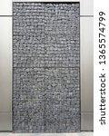 metal mesh stones   gabion... | Shutterstock . vector #1365574799