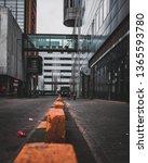 an empty side street in...   Shutterstock . vector #1365593780