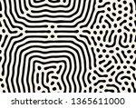 vector seamless pattern. modern ... | Shutterstock .eps vector #1365611000