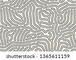 vector seamless pattern. modern ... | Shutterstock .eps vector #1365611159
