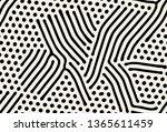 vector seamless pattern. modern ... | Shutterstock .eps vector #1365611459
